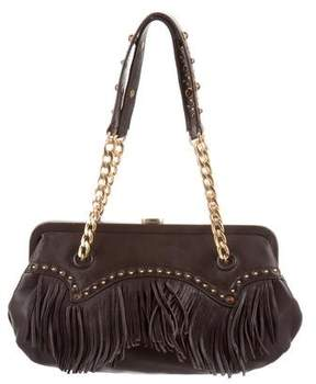 MICHAEL Michael Kors Leather Fringe Shoulder Bag