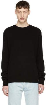 Rag & Bone Black Cashmere Haldon Sweater