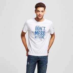 Awake Men's Texas Don't Mess With Me T-Shirt White