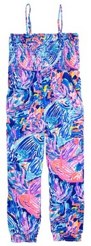 Lilly Pulitzer Girl's Jemma Print Jumpsuit