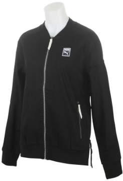 Puma Men's Classics + T7 Woven Jacket Black Jacket