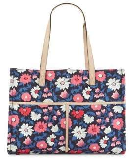 Kate Spade Washington Square Mega Sam Bag - NAVY FLORAL - STYLE