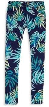 Catimini Little Girl's & Girl's Palm Jeans