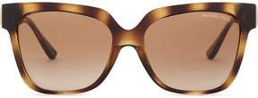 Michael Kors Havana Ena square sunglasses