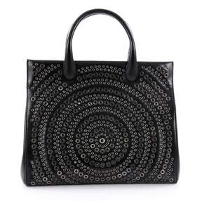 Alaia Black Leather Handbag