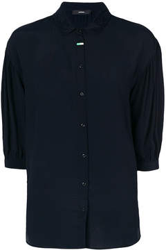 Diesel lace collared shirt
