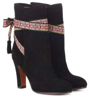 Etro Suede ankle boots