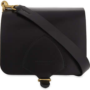 Burberry Square leather satchel - BLACK - STYLE
