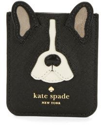 Kate Spade Antoine Applique Sticker Pocket - BLACK MULTI - STYLE