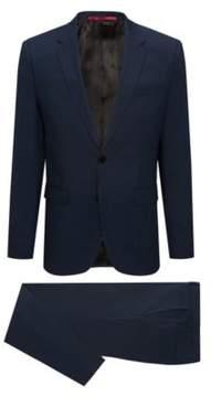 HUGO Boss Italian Wool Suit, Extra Slim Fit Arti/Hesten 46R Dark Blue