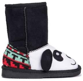 Muk Luks Kids' Oreo Panda Bear Boot Toddler/Preschool