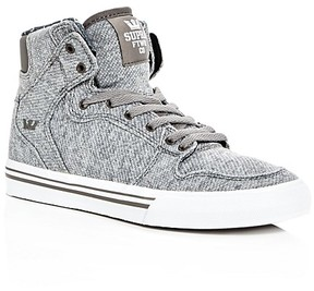 Supra Boys' Vaider Jersey High Top Sneakers - Toddler, Little Kid, Big Kid