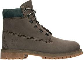 Timberland Boys' Grade School 6 Inch Classic Premium Boots