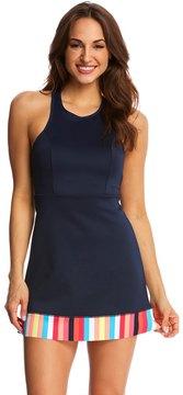 Anne Cole Women's Running Stripe Swim Dress 8137404