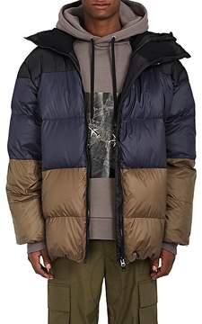 Public School Men's Colorblocked Down-Filled Oversized Puffer Coat