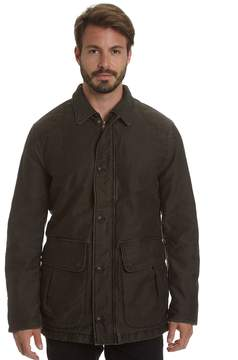 Haggar Big & Tall Garment-Washed Barn Coat