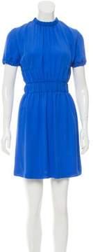 Christopher Kane Silk Mini Dress