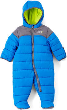 Weatherproof Charcoal & Blue Hooded Snowsuit - Infant