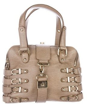 Jimmy Choo Embossed Leather Bree Bag
