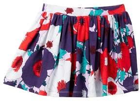 Joe Fresh Allover Print Knit Skirt (Toddler & Little Girls)