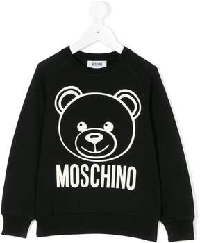Moschino Kids Teddy bear sweatshirt