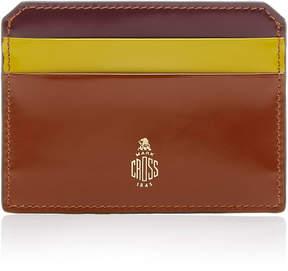 Mark Cross Brush Off Leather Cardholder
