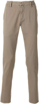 Dondup fitted chino trousers