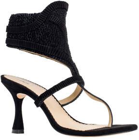 Max Studio well : textured suede heels