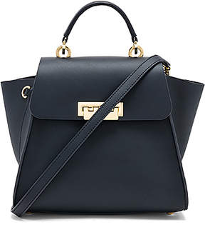 Zac Zac Posen Eartha Iconic Convertible Backpack in Navy.