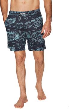 Barney Cools Men's Woven Print Sunday Swim Shorts