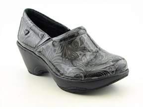 Nurse Mates Bryar Women Round Toe Synthetic Gray Nursing & Medical Shoe.