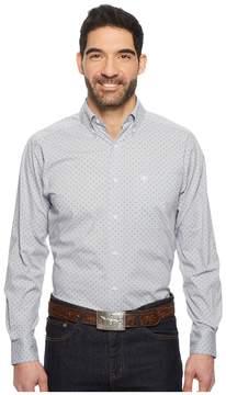 Ariat Durham Print Shirt Men's Long Sleeve Button Up