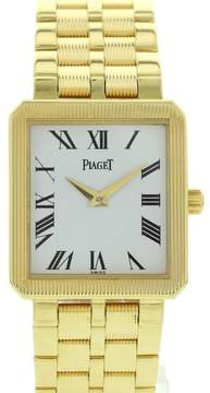 Piaget Protocole 50154 M601D 18K Yellow Gold Quartz 25mm Watch