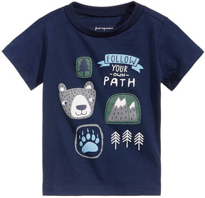 First Impressions Patch-Print T-Shirt, Baby Boys (0-24 months), Created for Macy's