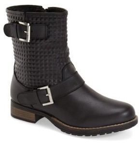dav Women's 'Granada' Waterproof Pyramid Studded Boot