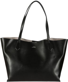 Hogan Leather Shopper Bag