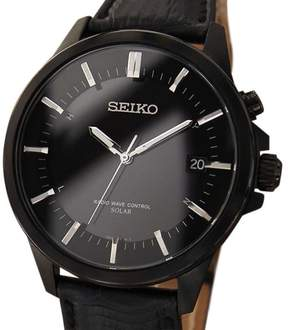 Seiko Stainless Steel 40mm Mens Watch