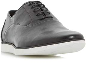 Dune London BOSTON - BLACK Casual Wedge Sole Oxford Shoe