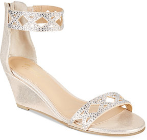 Thalia Sodi Addis Braided Wedge Sandals, Created for Macy's Women's Shoes