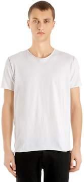 Giorgio Brato Raw Cut Cotton Jersey T-Shirt