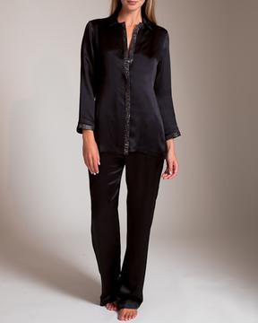 Carine Gilson Jacquard Passerin Lurex Pajama