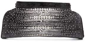 Rodo crystal embellished clutch