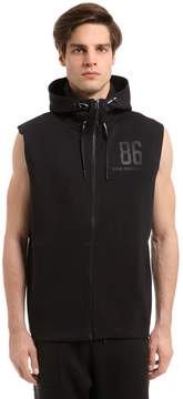 Peak Performance Tech Hooded Sleeveless Sweatshirt