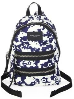 Marc Jacobs Mini Biker-Print Backpack