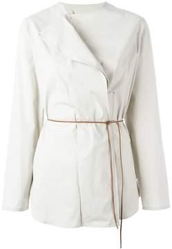 Fabiana Filippi asymmetric belted blouse