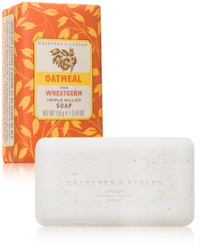 Crabtree Evelyn Heritage Soaps - Oatmeal and Wheatgerm Triple Milled Soap