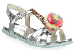 Sophia Webster Baby's, Toddler's& Kid's Loni Ice Cream Pom Sandals