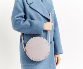 Oasis Leather Circle Cross-Body Bag