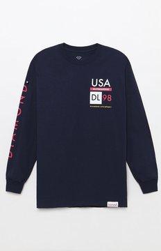 Diamond Supply Co. Stacks Long Sleeve T-Shirt