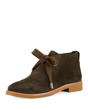 Kate Spade Barrow Suede Lace-Up Bootie